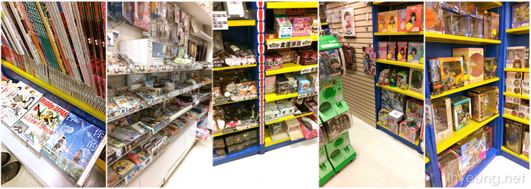 Layout is similar to the stores in Japan.
