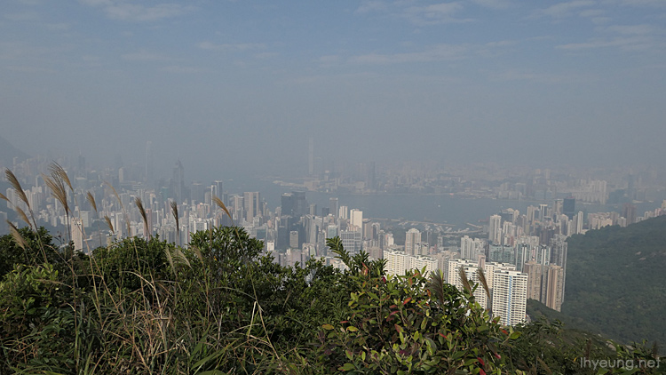 You can see Central and Tsim Sha Tsui, Central and the famous Victoria Harbour from here.