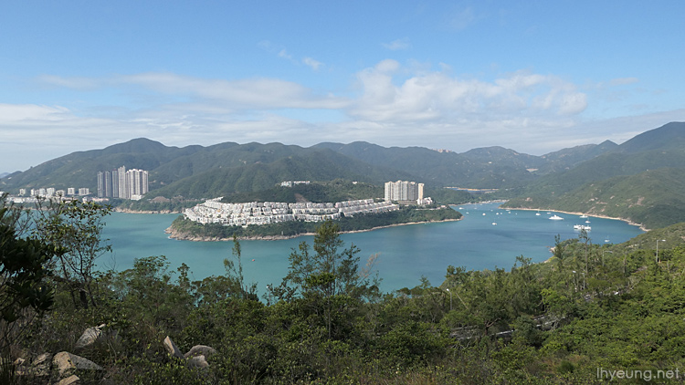 Nice view overlooking Tai Tam.