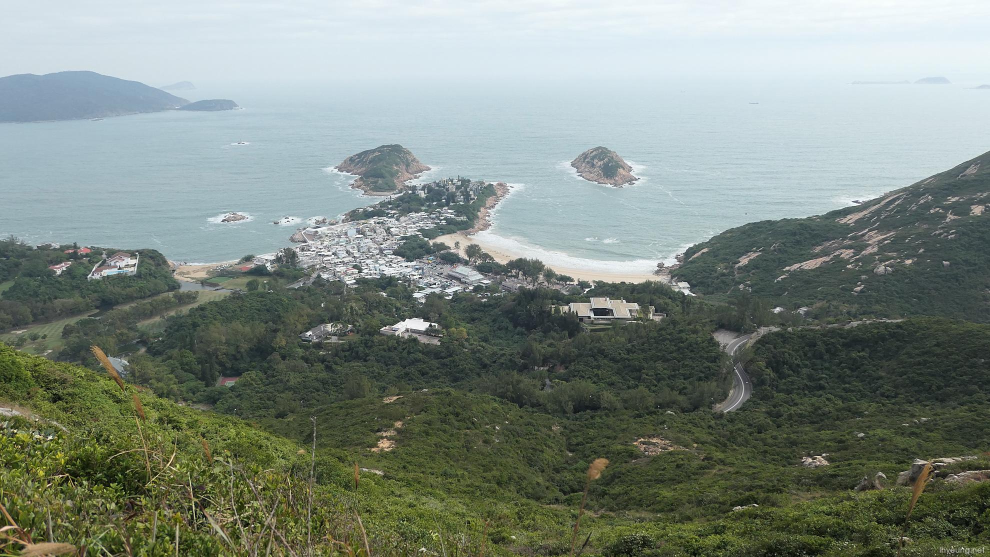 Hiking In Hong Kong Trail Section 8 Dragons Back Lh Yeungnet - Hong-kong-villa-located-in-shek-o