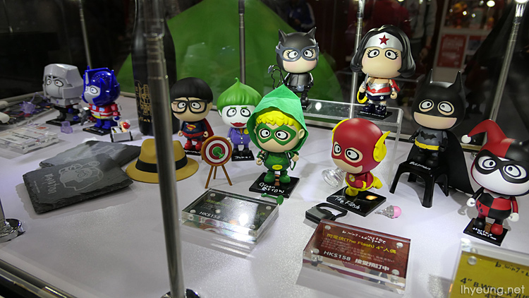 HK's version of chibi Marvel characters.