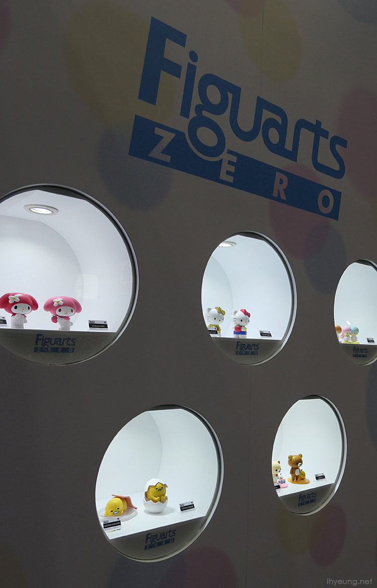 Can't have a toy exhibition without Sanrio.