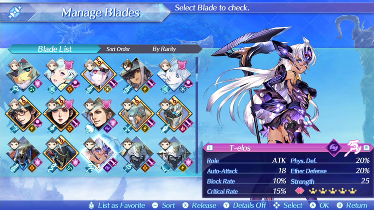KOS-MOS' rival T-Elos Re: added in v1.4.0