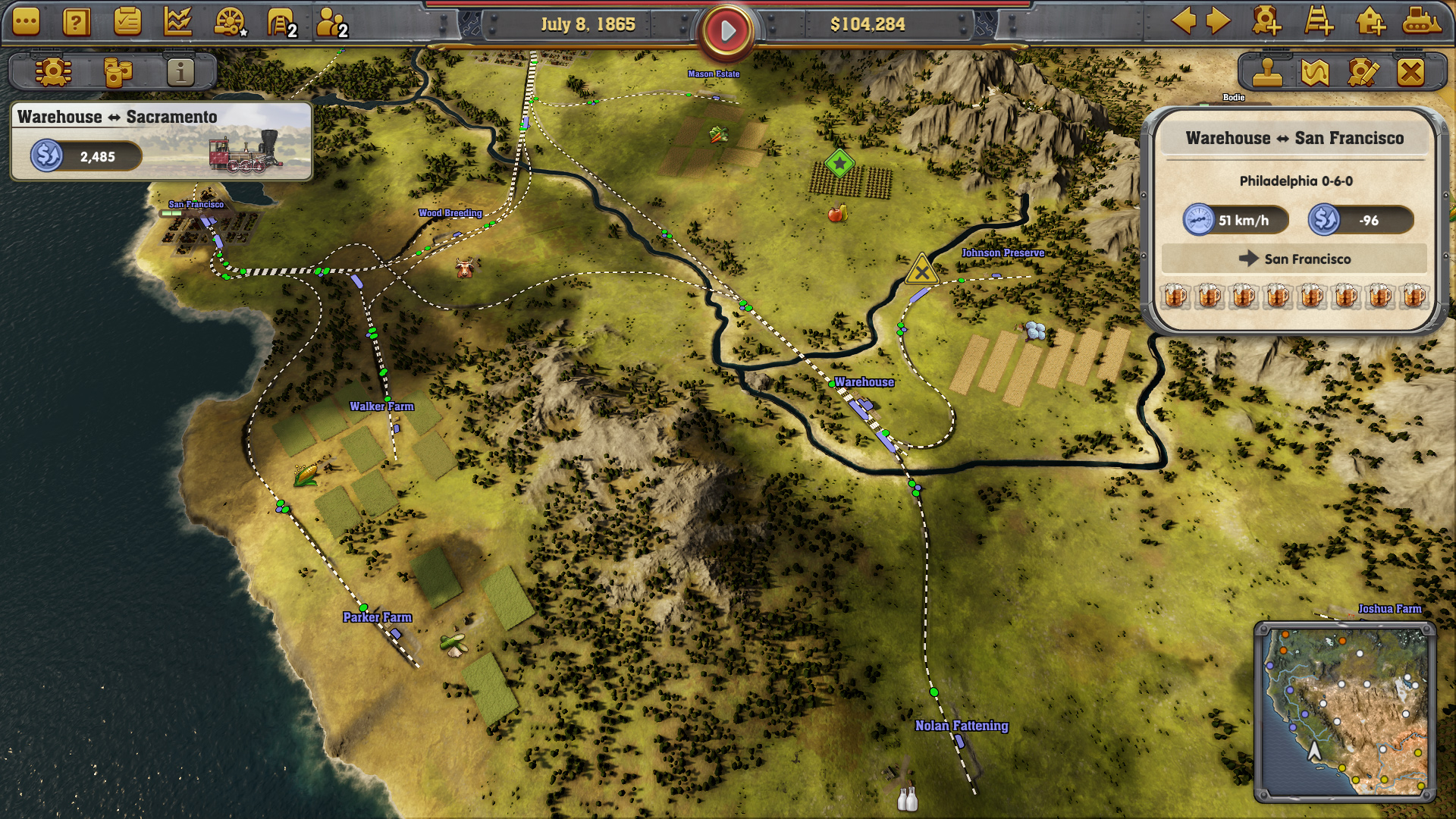 Railway Empire, Campaign Tips | LH Yeung net Blog - AniGames