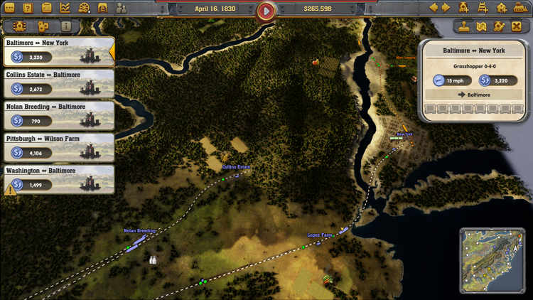 Railway Empire Review | LH Yeung net Blog - AniGames