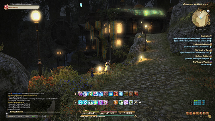Gridania, still the same serene place.