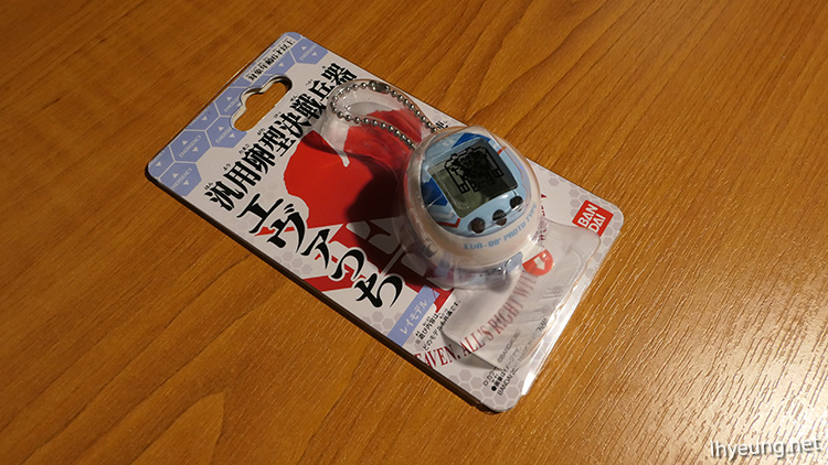 Evatchi, the official Evangelion Tamagotchi.