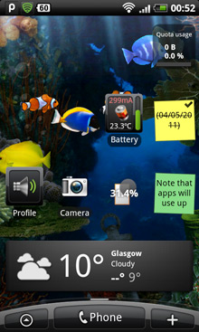 3G Watchdog Widget