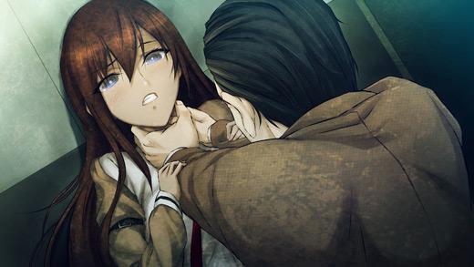 Kurisu in trouble.